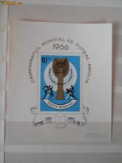 Colectii filatelie - LP 627 Campionatul mondial de fotbal 1966 LP 627 0069-70