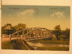 Carti Postale Romania 1904-1918 - SFANTU GHEORGHE - PODUL PESTE OLT