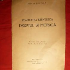 M.Djuvara - Dreptul si Morala - ed.1935 - Carte Teoria dreptului