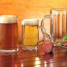 Pahar sticla, pahare bere, halbe bere, pahar sampanie, pahar suc, sonda suc, pahar vin