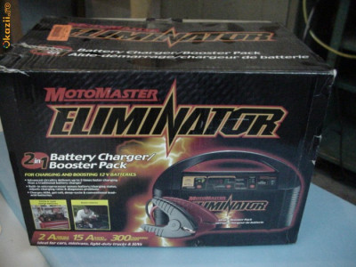 CHARGER (REDRESOR INCARCATOR) SI DESULFATAT ACUMULATORI AUTO,  XPOWER BOOSTER CHARGER 15A foto