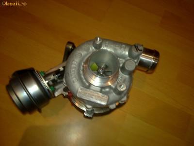 turbina turbosuflanta GT1749V  AUDI A4,A6, SKODA Superb, VW Passat 1.9 TDI 101,110,116 CP foto