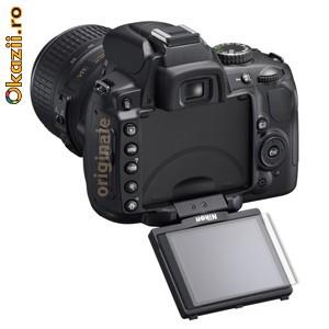 Nikon D5000 folie de protectie (set 2 folii) 3M CV8 foto