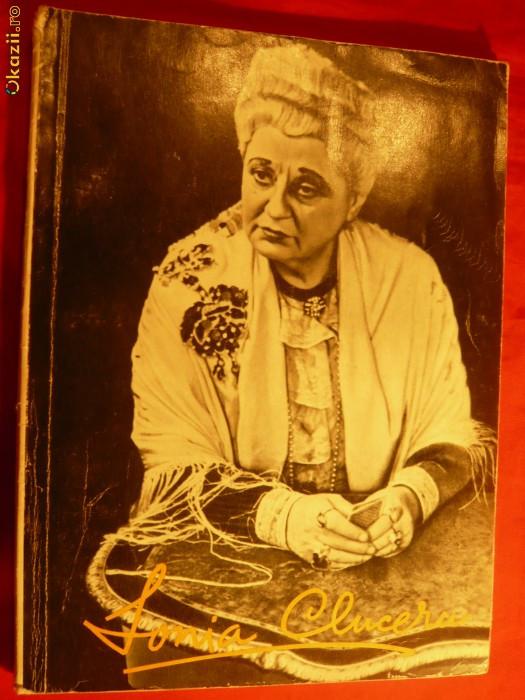Sonia Cluceru -Album biografic ilustrat -V.Bradateanu 1963 foto mare