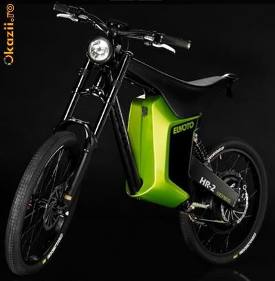 Bicicleta electrica El Moto unicat in romania(prototip) foto mare