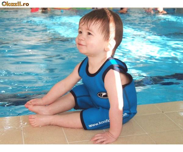 Costum de baie NEOPREN pentru copii UV PROTECTION foto mare