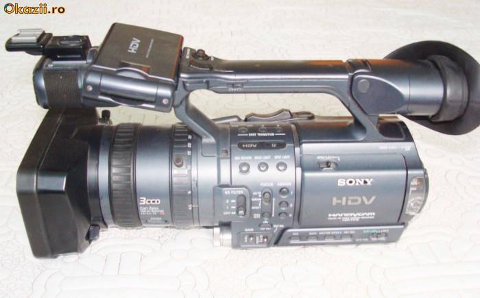 vand camera video SONY FX1 foto mare
