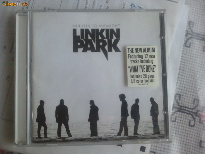Linkin Park- Minutes to midnight+Booklet full color- NOU la un pret excelent foto mare