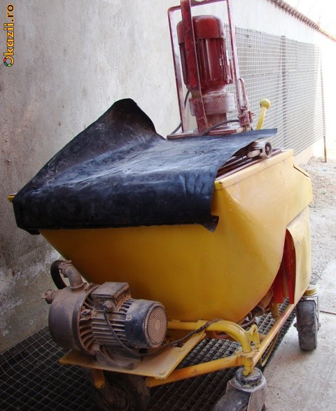 Vand Masina de Tencuit + Generator 220V-380V foto mare