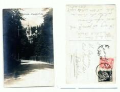 Carti Postale Romania dupa 1918 - CP107-66 -Sinaia -Castelu Peles -circulata 1927?