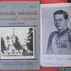 Carte Editie princeps - Ionescu Muscel, Revista istorica a com.Domnesti, Jud.Muscel, 1941