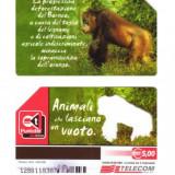 CARTELA  ITALIA - FAUNA urangutan - PENTRU COLECTIONARI **