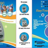 EASYTOUCH GC - APARAT DE MASURAT GLICEMIE si COLESTEROL