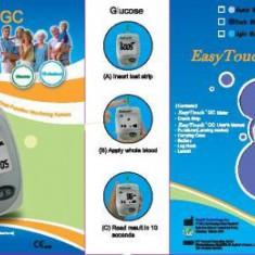 Glucometru - EASYTOUCH GC - APARAT DE MASURAT GLICEMIE si COLESTEROL