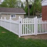 Accesorii gradina - GARDUL AMERICAN, gard din PVC