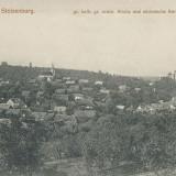 Carti Postale Romania pana la 1904 - CFL 1906 ilustrata Slimnic jud Sibiu vedere generala