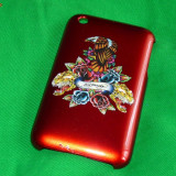 Carcasa iPhone 3G 3Gs - model unicat APPLE ED HARDY DESIGN [1]