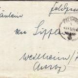 PLICURI CENZURATE MILITAR GERMANIA CNZ 43 - Plic Papetarie