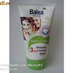 Balea Young 150ml 3 in 1 Peeling, Curatare si Masca