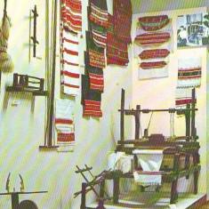 Carti Postale Romania dupa 1918 - PN 108 REGHIN-Muzeul etnografic -razboi de tesut necirculata