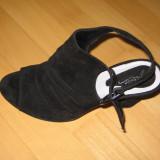 sandale dama piele intoarsa