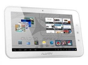 Tableta Allview Alldro Speed SuperSlim alba foto
