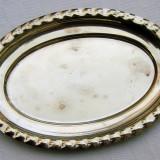Farfurie ovala poansonata EPNS - Argint