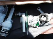 armatura sistem rezervor wc geberit foto