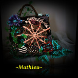 Geanta Dama, Geanta sacosa, Corai, Microfibra - ~Mathieu~ Spider Bag
