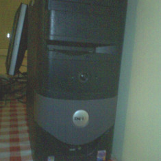 Vand uregent calculator dell, cu monitor tip plasma, pentium 4, in stare foarte buna... - Sisteme desktop cu monitor Dell, Intel Pentium 4, Altele, 17 inch