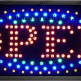 Afisaj cu LED-uri, afisaj Open, panou Open-113627 - Bec / LED