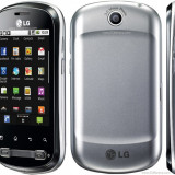Vand/ schimb Lg Optimus ME impecabil 9/10 - Telefon LG, Negru, 32GB, Neblocat, 256 MB, 2.8''