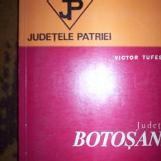 Carte Geografie - Judetul botosani/ghid judetele patriei/cu harta