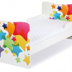 Pat Copii Tineret 3-10 Ani KLUPS Timo Stars - Pat tematic pentru copii, 140x70cm