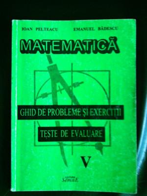 manual matematica clasa a5a teste de evaluare foto
