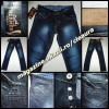 BLUGI BARBATESTI firma brand HERMES PARIS BLUE JEANS JINSI DENIM PRESPALATI BARBATI made in FRANCE 100% BUMBAC REGULAR F