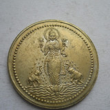 Tailanda medalie cu 2 elefanti si zeitate Siam