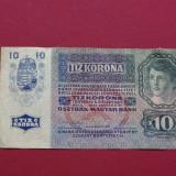 Bancnota Straine - 10 coroane korona kronen 1915