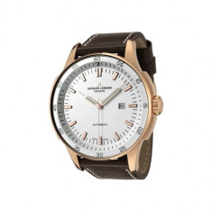 Ceas JACQUES LEMANS GU229D Automatic - Ceas barbatesc Jacques Lemans, Casual, Mecanic-Automatic, Inox, Piele, Data