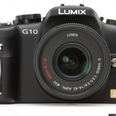 Panasonic Lumix DMC G10 - Aparat Foto Mirrorless Panasonic