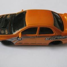 SUBARU IMPPEZA RACING WP/STI FABRICAT DE BURAGO LA SCARA 1/43 - Macheta auto Bburago