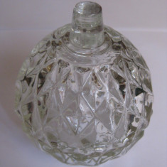 REDUCERE 20 LEI! MINI BOMBONIERA ROMANEASCA DE CRISTAL DIN ANII 70 - Arta din Sticla