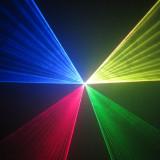 Laser RGB, rosu, verde, albastru 500mW rgb, Laser cu 7 culori, DMX, pentru club, discoteca, dj, pub, lumini disco, full color, laser dj, show laser