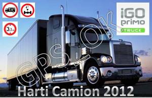 iGO Primo 2.0 Truck - Soft navigatie GPS special pentru Camioane, TIR-uri harti EUROPA si ROMANIA 2012 foto
