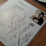Autograf cu cd jean constantin