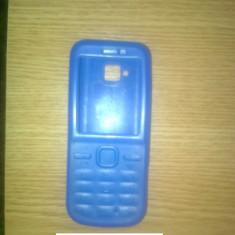 Husa Telefon Nokia, Albastru - VAND IEFTIN HUSA SILICON NOKIA C5, C5-00 PE ALBASTRU