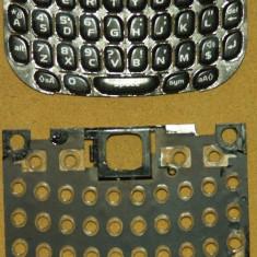 Tastatura si carcasa grila/rama taste pentru tastatura Blackberry 8520 Curve Gemini Original - Tastatura telefon mobil