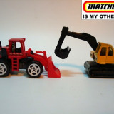 MATCHBOX-LOT DE UTILAJE PTR. CONSTRUCTII . 2100 DE LICITATII !! - Macheta auto
