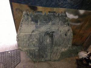 Vand Scut motor Skoda octavia foto