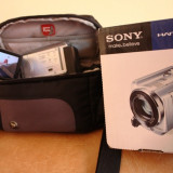 Camera video sony dcr- sr58e cu hdd 80 gb, Hard Disk, 8-8.90 Mpx, CCD, 2 - 3